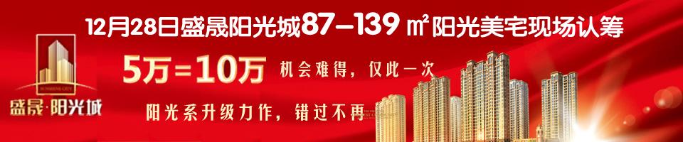 12月28日安庆盛晟阳光城现场认筹