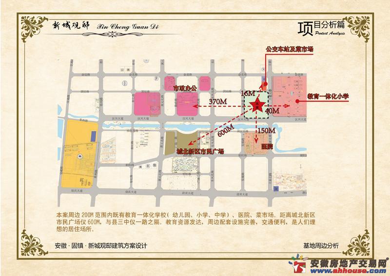 新城观邸交通图
