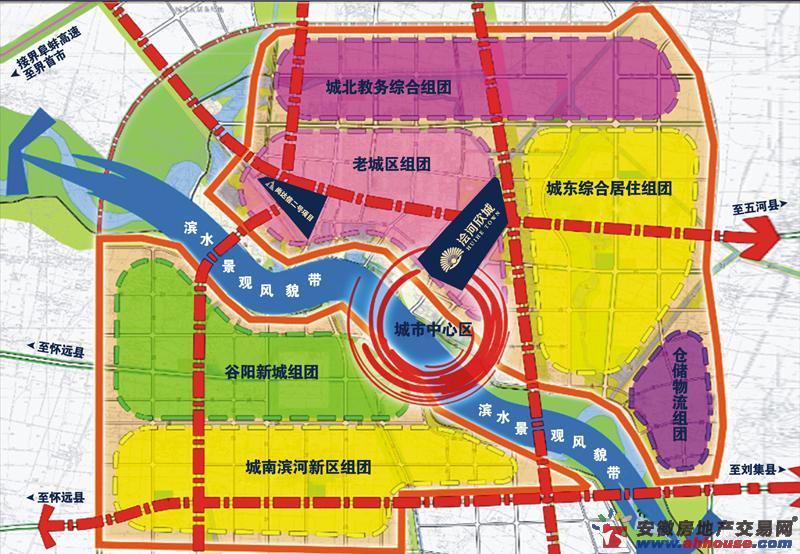 浍河欣城交通图