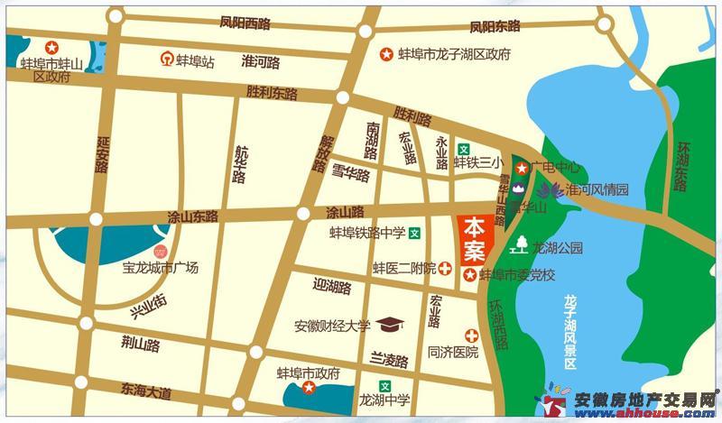 泷湖湾交通图