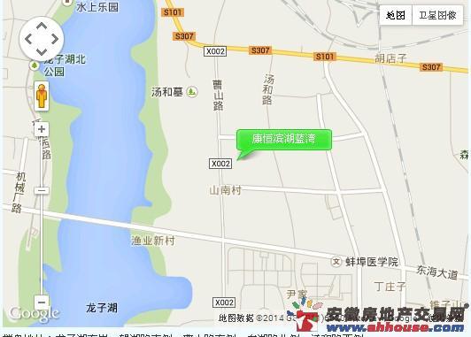 康恒滨湖蓝湾交通图