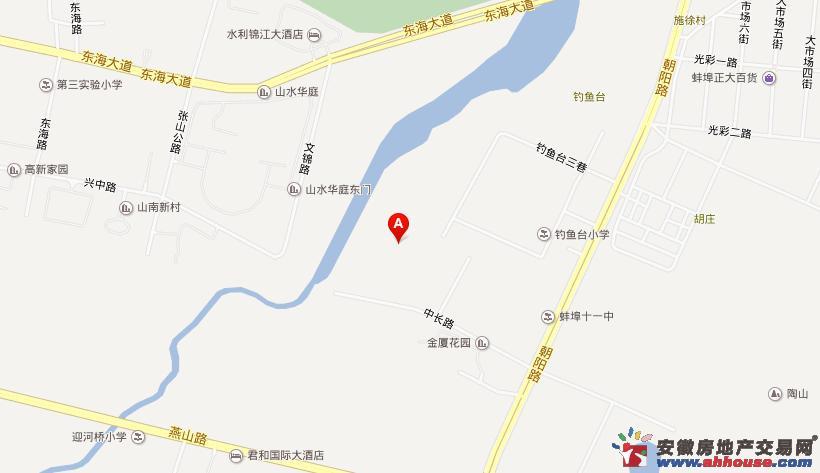 荣盛西湖观邸交通图