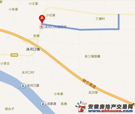 滨河壹號交通图