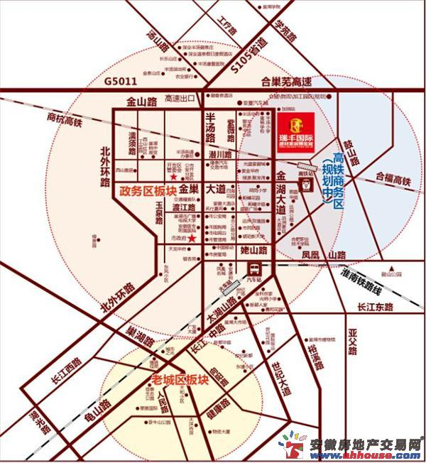 瑞丰国际建材家居博览城交通图