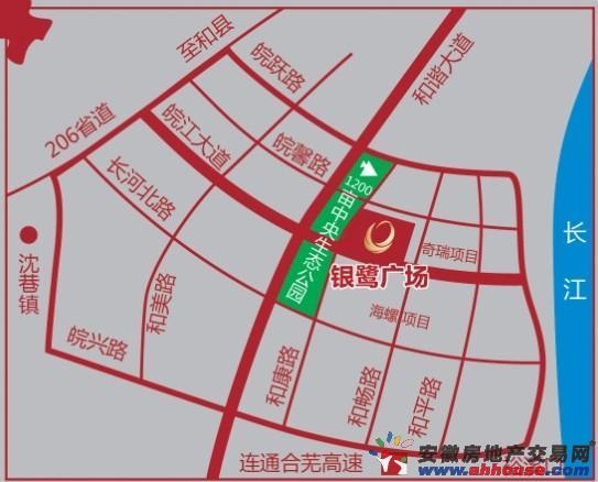 银鹭广场交通图