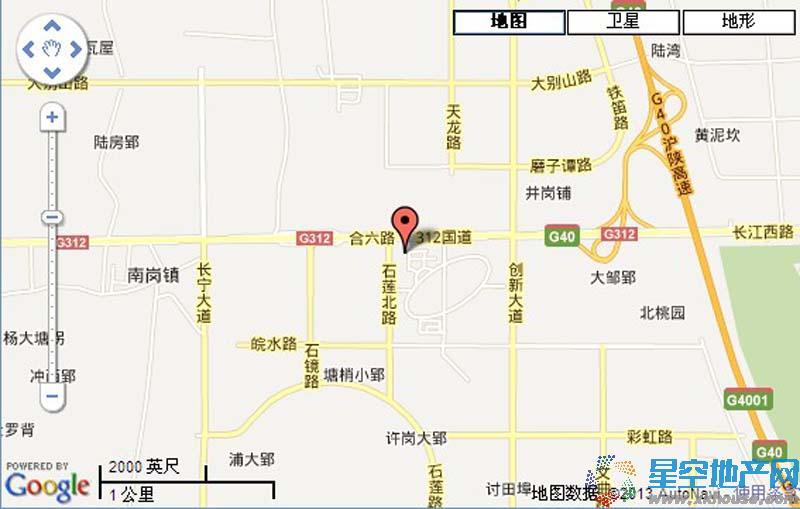凌耀贸易KF4-1宗地交通图