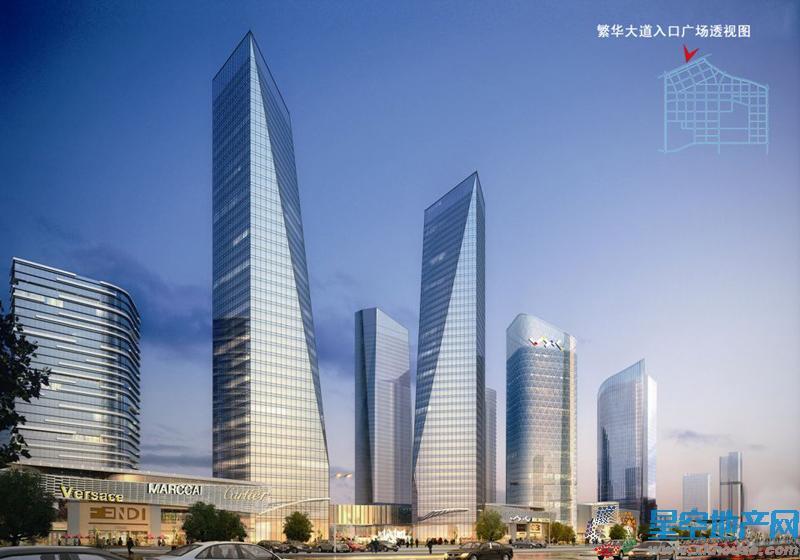 合肥华南城效果图