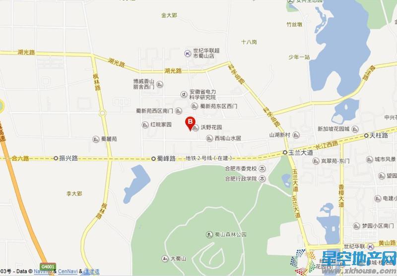 拓基蜀山CBC交通图