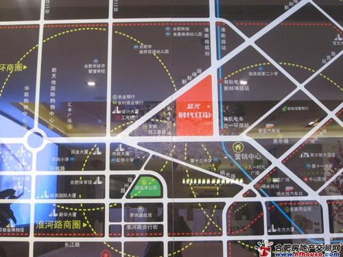 蓝光·时代红街交通图